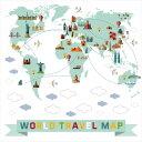 地図☆ シール式ウォールステッカー ウォールステッカー 飾り 30×30cm 世界地図 日本地図 world map japan 大陸 剥がせる カッティングシート wall sticker 雑貨 ガラス 窓 DIY 016004