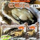 牡蠣ポン(2個入)×2袋セット殻付き 生がき 簡単レンジでポン 宮城県産 漁師直送 かきぽん