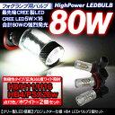 H8 H11 H16 HB4 PSX26W 80W フォグランプ 交換用 LEDバルブ/プロジェクタ