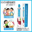 【在庫あり】 SSG0001 Soda Stream ソーダストリーム 予備用ガスボンベ [ガスシリンダー 60リットル用] 【家電とギフト】【あす楽】