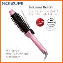 【お取り寄せ】 KOIZUMI KHR-6300/P ピンク コイズミ マイナスイオンボリュームアップアイロン パイプ径32mm Koizumi Beauty / マイナ..