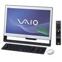 ソニー【バイオ】デスクトップ VAIO Jシリーズ VPCJ118FJ/WI★マットホワイト【VPCJ118FJWI】