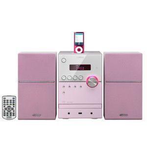 iPod/iPhone対応マイクロコンポーネントシステム(ピンク)[UX-SH5-P] - 日本ビクター