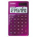 カシオ【カシオ】カシオデザイン電卓10桁 手帳サイズ SL-Z1000PK-N★【SLZ1000PKN】【AC-00015498】