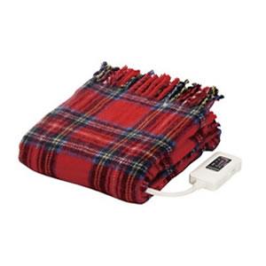 椙山紡織【***特別価格***】日本製 電気ひざ掛け毛布 NA-055H-RT(レッド)★【NA055HRT】