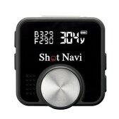 ショットナビ【超小型・軽量】GPSゴルフナビゲーションShotNaviV1ブラック★【ShotNaviV1-B】