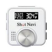 ショットナビ【超小型・軽量】GPSゴルフナビゲーションShotNaviV1ホワイト★【ShotNaviV1-W】