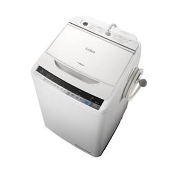 日立【HITACHI】7kg 全自動洗濯機 ビートウォッシュ BW-V70A-W(ホワイト)★【BW-V70A】