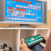 スリーアップ【Threeup】電池式 家庭用テレビ麻雀ゲーム TU-380★【AVケーブル接続】