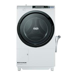 日立【楽天半額SALE企画】ドラム式洗濯乾燥機(10kg) BD-S8700L-Wピュアホワイト★【代引不可 左開き】