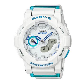 カシオ【国内正規品 】CASIO Baby-G アナログ腕時計 白 BGA-185FS-7AJF★G-SALE【レディース】 15:30迄のご注文で最短当日出荷(在庫商品に限る)