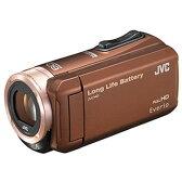 ビクター【JVC】ビデオカメラ「Everio」スタンダードモデル GZ-F100-T(ブラウン)★【GZF100】