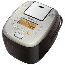 パナソニック【Panasonic】1升 可変圧力IHジャー炊飯器 おどり炊き SR-PA187-T(ブラウン)★【SRPA187T】