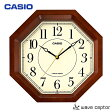 CASIO〔カシオ〕電波掛け時計 IQ-1106J-5JF[壁掛け時計 時計 電波時計 部屋 リビング スタンダード]【D】【RCP】