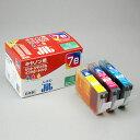 【ジットサプライ】BCI-7eキヤノン対応 リサイクルインク BCI-7e/3MP互換カラー3色セット C・M・Y【D】JIT-C07E3P インクジェットプリンタ用 年賀状 印刷