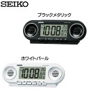 SEIKO〔セイコー〕電波目覚まし時計 NR531K・NR5...