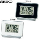 SEIKO〔セイコー〕電波目覚まし時計 SQ767K・SQ7...