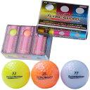 【ゴルフボール】レザックスモデル非公認 カラーMIX 6P 【ボール】レザックス FRBA-2117・MIX【TC】