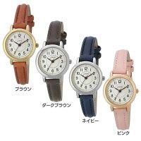 【B】ノーマル革ベルトウォッチ AL1315-BR腕時計 時計 とけい アナログ 腕時計とけい 腕時計アナログ 時計とけい とけい腕時計 アナログ腕時計 とけい時計 サン・フレイム ブラウン・ダークブラウン・ネイビー・ピンク【D】【メール便】