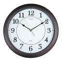 掛け時計 Formia ブラウン HWC-004BR時計 クロック 掛け時計 置き時計 アナログ ライト 寝室 インテリア フォルミア Formia 【D】【B】