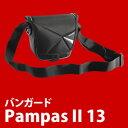 バンガード Pampas II 13BK ブラック カメラ用ショルダーバッグ【快適家電デジタルライフ】