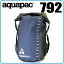アクアパック 792 トレイルプルーフトコア デイサック 28L ブラック/ブルー