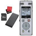 (SD32GB&ケースセット) オリンパス ICレコーダー DM-750 シルバー (快適家電デジタルライフ)