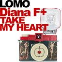 LOMO トイカメラ Diana F+ Take My Heart フラッシュ付属パッケージ [フィルムカメラ]【メール便不可】