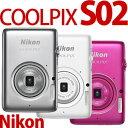 Nikon デジカメ COOLPIX S02 【カラー選択式】