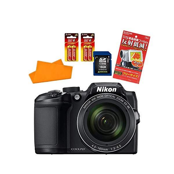 【★SD16GBセット】ニコン(Nikon) デジタルカメラ COOLPIX B500 [カラー選択式]【快適家電デジタルライフ】