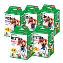 【送料無料】富士フィルム チェキフイルム instax mini 2パック品 JP2(20枚入り)×5個セット 100枚入 (快適家電デジタルライフ)