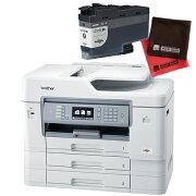 (インク・クロスセット)ブラザー ビジネスインクジェット複合機 MFC-J6999CDW A3対応 ファクス機能付プリンター (MFCJ6999CDW)(brother) (ラッピング不可)(快適家電デジタルライフ)