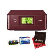(インク・クロス付)エプソン カラリオプリンター EP-881AR レッド A4カラー複合機 (Colorio)(EPSON) (快適家電デジタルライフ)