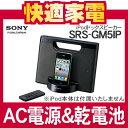 ソニー iPodドックスピーカー SRS-GM5IP [SRSGM5IP][AC電源と乾電池の2電源対応][iPod/iPhone対応]