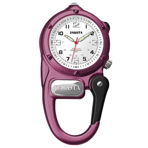 (正規品)DAKOTA(ダコタ) 3827-5 時計 クリップウォッチ ミニクリップ ピンク アウトドア(快適家電デジタルライフ)