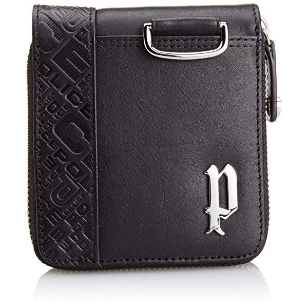 POLICE(ポリス) CIRCUIT 二つ折り財布 PA56102-10(ブラック)【正規輸入品】 '【メンズ小物】【快適家電デジタルライフ】