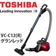 東芝 掃除機 サイクロンクリーナー トルネオミニ VC-C12(R) レッド【大掃除グッズ】【メール便不可】