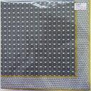 ペーパーナプキン[メール便OK] メンズグレーパターン 2枚入り[ZARA]紙ナプキン