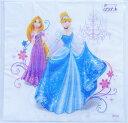 印刷ズレSALE ペーパーナプキン[メール便OK] ディズニープリンセス ラプンツェル・シンデレラ[Princess]1枚紙ナプキン・ペーパーナプキン