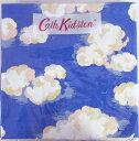 廃番・在庫限り!ペーパーナプキン[メール便OK]  CLOUDS 2枚入りキャスキッドソン[CathKidston]ドイツ製・紙ナプキン