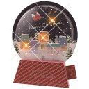 クリスマスメロディライトカード スノードーム 20曲入り[Gakken Sta Ful]学研・メッセージカード・立体カード・クリスマス