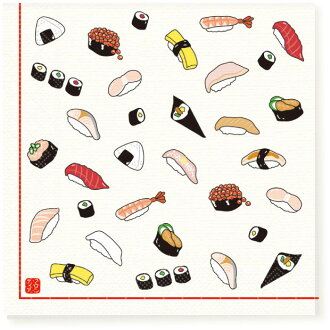衛生紙 [] 壽司 10 件 [FRONTIA] 前沿日本傳統壽司紙餐巾