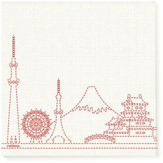 衛生紙絎縫日本 10 到前沿日本模式紙餐巾