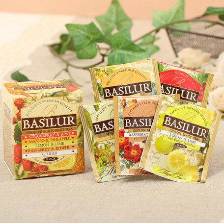 箱入り紅茶セットマジックフルーツ アソートtea bag20g/10袋入り[BASILUR]バシラー