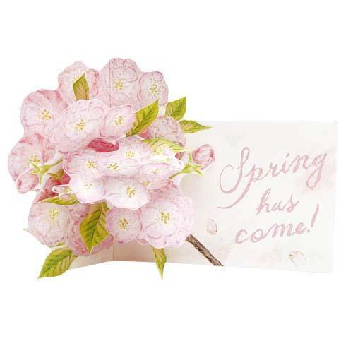 フラワーポップアップカード 八重桜桜・サクラ・さくらの商品画像