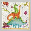 ペーパーナプキン[メール便OK] パーティー 恐竜  ランチサイズ・10枚入りランチサイズCaspariカスパリ