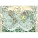 1726 包装紙 ラッピングペーパー エミスフェールマップ2 半球2世界地図[Cavallini ]輸入包装紙スクラップブッキング・ポスター・カ..