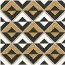 ペーパーナプキン[メール便OK]ランチサイズ イリュージョンIllusion 10枚入り[Paper+Design]総柄・北欧・黒白ゴールド