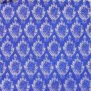 ペーパーナプキン[メール便OK] ランチサイズ10枚入りFinial 尖り装飾 ブルー[Caspari]カスパリ
