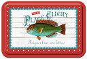ラ・トリニテーヌ 魚缶 フィッシュ (薄焼きガレット/厚焼きパレット詰合せ) フランス製・缶入り・ガ...